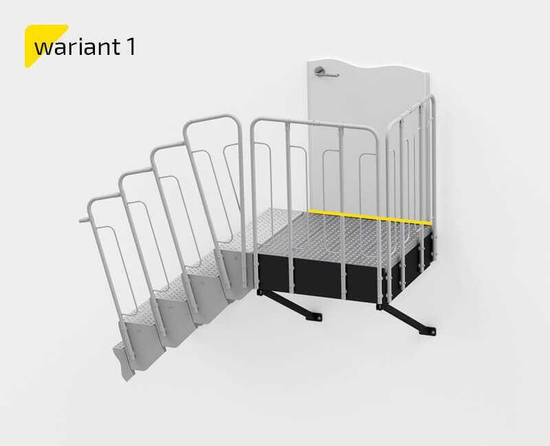 Schody modułowe warianty schodów